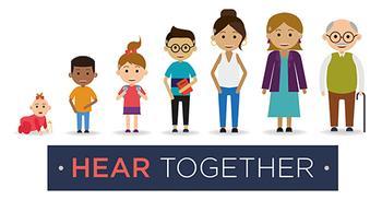 Hear Together <br> Registered charity:  1188842 logo